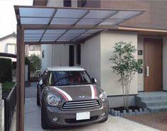 Pergola In Front Of Garage Refferal: 6830405667 Carport Designs, Garage Design, Roof Design, Building A Porch, Metal Building Homes, Building A House, Modern Carport, Modern Gazebo, Carport Kits