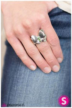 You Give Me Butterflies- Stretch band ring. All Lead and Nickel Free.