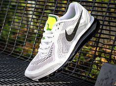 Nike Air Max 2014 – White – Black – Pure Platinum – Volt