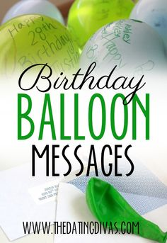 LOVE this birthday idea!