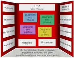 3rd grade science fair project   ... project, below is one suggestion for the layout of your project board