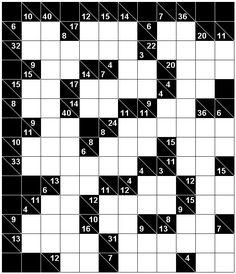 Number Logic Puzzles: 22702 - Kakuro size 6