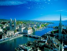 2. The Swiss city of Zurich, one of the most expensive holiday destinations in the world, has a population made up of 27 per cent millionair...