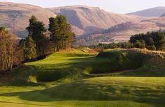 Glen Eagles Golf Club, Perthshire, Scotland