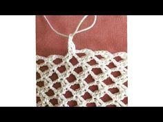 Crochet Lace, Crochet Stitches, Free Crochet, Crochet Patterns, Crochet Videos, Crochet Projects, Diy And Crafts, Crochet Necklace, Applique