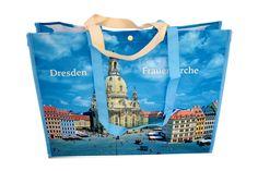 Tragetasche Frauenkirche und Brühlsche Terrasse | Frauenkirche/Brühlsche Terrasse reisfeste Tragetasche online bestellen