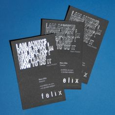 300gsm Foil Business Cards