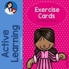 The Peaceful Playgrounds set of Exercise Cards are easy to use and describe the exercises in the set,  as well as, have an illustration for each task card.  They are a great idea for brain break activities inside or perfect for warm-up exercises in physical education class held outside.