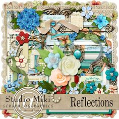 Reflections Elements By Miki @ Scrapbookgraphics.Com