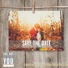 Photo Save the Dates! This shop seriously has the cutest wedding stuff ever!!