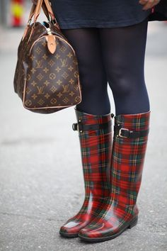 Ralph Lauren Plaid Boots and I don't have Them!! I Must Find Them, LOVE! to have them!!!
