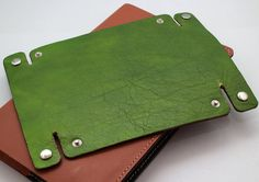 :: GREAT GIFT FOR EVERYONE! :: Hand Crafted Leather and Suede Tray ******************************************* ~ TRAVEL WITH STYLE ~ Stay