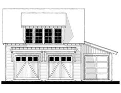 House Plan Design from Allison Ramsey Architects Garage Addition, Carriage House, Second Floor, Cabins, Architects, House Plans, Floor Plans, Exterior, River