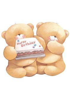 Ositos tiernos- Happy Birthday