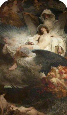 An Allegory, 1904 by Solomon Joseph Solomon (1860-1927)