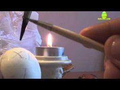 Пробний розпис писанки на Великдень 2015 Easter Egg - YouTube