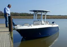 Riobalo 242 Center Console Fishing Boat. Sea trial done.....are you ready to come home with me?