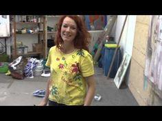 Coco Conny Niehoff - Malerin aus Colbitz HD tour of studio      5 minutes
