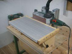 Bandschleifer Stationäreinrichtung Bauanleitung zum selber bauen Selber machen