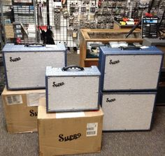 Supros at the Amp shop, NZ