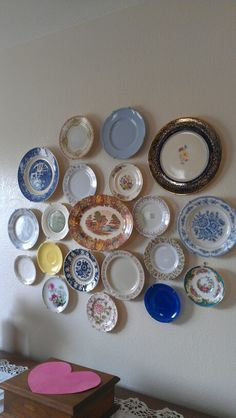 My wall of plates