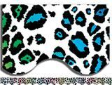Rainbow Leopard Print Bulletin Board Border, Scalloped