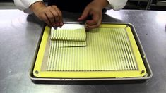 Step-by step video on how to make a striped mushroom omelet. For more tips and recipes visit: http://modernistcuisine.com/cook/recipe-library/striped-mushroo...