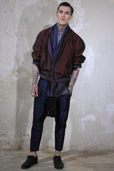 Modeconnect.com - Haider Ackermann Spring 2014 Menswear