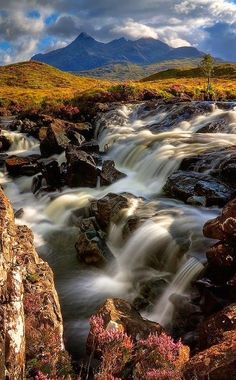Sgurr nan Gillean ,Isle of Skye, Scotland.