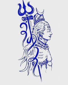 Shiva is also known as Adiyogi Shiva, regarded as the patron god of yoga, meditation and arts tattoo mann vorlagen Lord Hanuman Wallpapers, Lord Shiva Hd Wallpaper, Mahakal Shiva, Shiva Art, Krishna, Lord Shiva Sketch, Tattoo Collection, Shiva Tattoo Design, Shiva Shankar