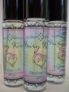 Fairy Kiss Roll on Perfume Oil by AbbeyJames on Etsy, $11.95