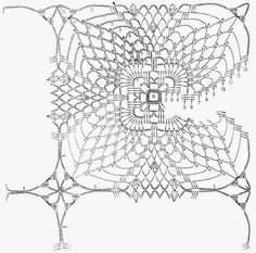 Crochet Art: Cochet Doily Pattern - Very Nice