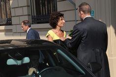Il presidente del Consiglio  Matteo Renzi ha incontrato il premier greco Samaras al Westin Excelsior a Firenze