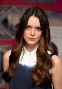 #StacyMartin attends a photocall for #Nymphomaniac, February 21, 2014, London