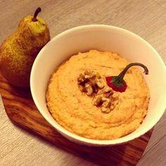 Birnen-Chili-Walnuss-Pesto (vegan) - Teekesselchen