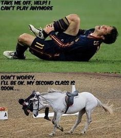 Horseaddict on - Horses Funny - Funny Horse Meme - - The soccer guy is not faking I bet his hurt just as much as the little English The post Horseaddict on appeared first on Gag Dad. Funny Horse Memes, Funny Horse Pictures, Funny Animal Jokes, Funny Horses, Cute Horses, Horse Love, Cute Funny Animals, Horse Humor, Funny Memes