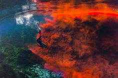 Mesmerizing Photos Reveal Hidden World of Underwater Caves Dye experiments and a 360-degree tour are helping Floridians understand their water supply.