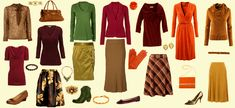 Autumn Colors: Perfect for Thanksgiving Day. I love dressing up a little on Thanksgiving.