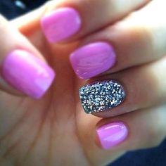 Pink Girly nail polish
