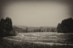 First snow by Lidia, Leszek Derda on First Snow, Country Roads, Nature