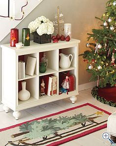 Could repurpose an old dresser...