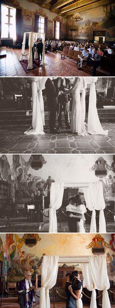 Amanda and Charley | Super fun and intimate laidback Jew-ish wedding at the Santa Barbara Courthouse, and The Lark, Santa Barbara, California