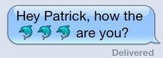 Hey Patrick
