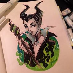 Maleficent by Martin Abel