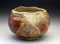 WoodFired Stoneware Tea Bowl / Chawan