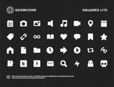 A set of 32 minimal icons. .EPS Licensed under Creative Commons 3.0
