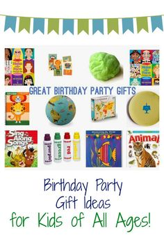 Favorite Birthday Party Gift Picks || The Chirping Moms