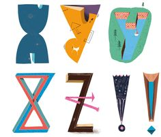 Mike Okay & Otto Baum - Comic Suns alphabet (X Y Z !)