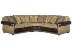 Sterling  Sectional Sofa by Bradington Young