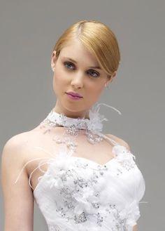 robe de marie morelle mariage lille vente en ligne collier annie couture ange - Morelle Mariage